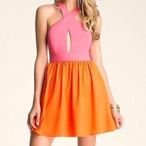 bebe Color Block Dress 6